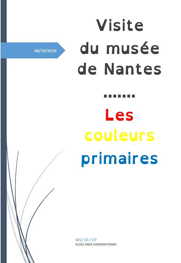 Visite Du Muse Des Arts De Nantes